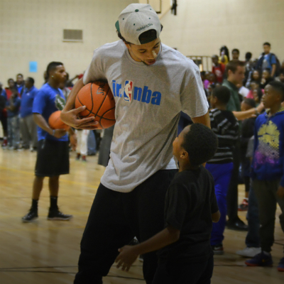 Bucks' community outreach never out of season