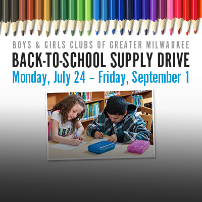 Donate to our Back-to-School Supply Drive!